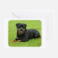 Rottweiler 9W025D-046 Greeting Card