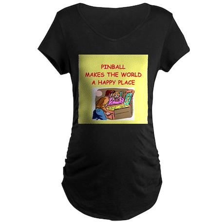 pinball Maternity Dark T-Shirt