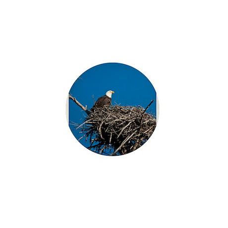 Bald Eagle Mini Button (10 pack)