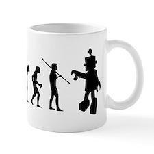 Robot Evolution Go Back Mug