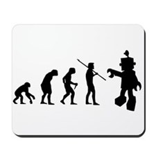 Robot Evolution Go Back Mousepad