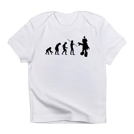 Robot Evolution Go Back Infant T-Shirt
