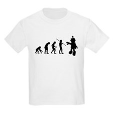 Robot Evolution Go Back T-Shirt