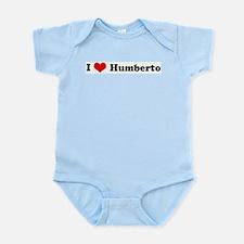 I Love Humberto Infant Creeper