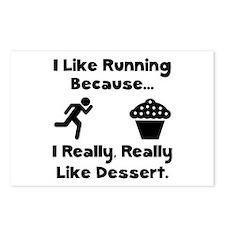 Running Dessert Postcards (Package of 8)
