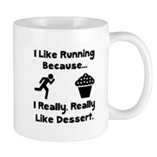 Running Dessert Mug