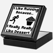 Running Dessert Keepsake Box