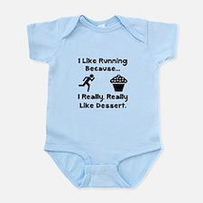 Running Dessert Infant Bodysuit