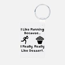 Running Dessert Keychains
