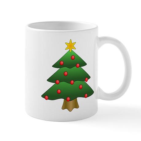 Christmas Tree Mug Mugs