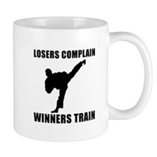 Martial Arts Winners Train Mug