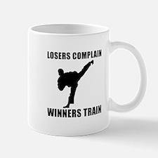 Martial Arts Winners Train Mug