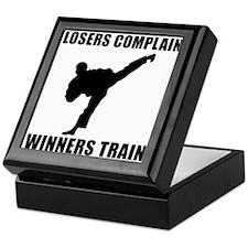 Martial Arts Winners Train Keepsake Box