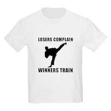 Martial Arts Winners Train T-Shirt