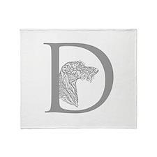 Deerhound Throw Blanket