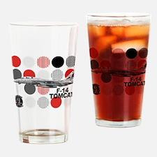VF-154 Black Knights Drinking Glass