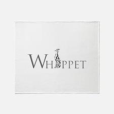 Whippet Throw Blanket