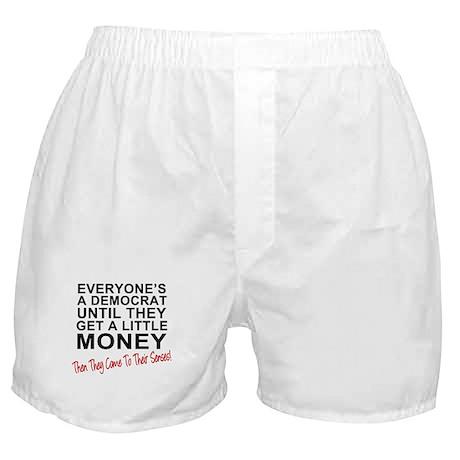 Everyone's a Democrat Until Boxer Shorts