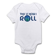 This Is How I Roll Turbines Infant Bodysuit