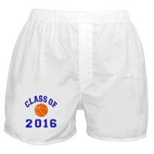 Class Of 2016 Basketball Boxer Shorts
