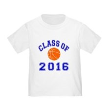 Class Of 2016 Basketball T