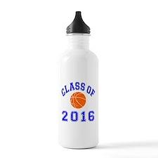 Class Of 2016 Basketball Water Bottle