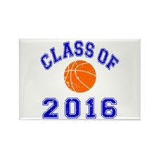 Class Of 2016 Basketball Rectangle Magnet