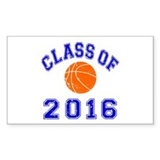 Class Of 2016 Basketball Decal
