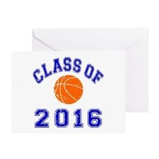 Class Of 2016 Basketball Greeting Card