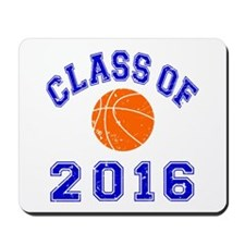 Class Of 2016 Basketball Mousepad