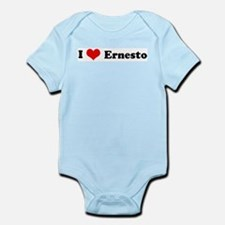 I Love Ernesto Infant Creeper