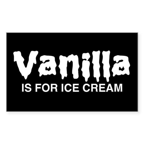 Vanilla Sticker (Rectangle)