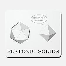 Platonic Solids Mousepad