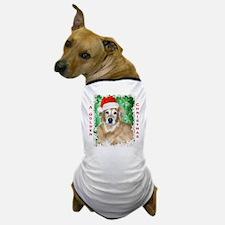 Golden Christmas Dog T-Shirt