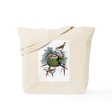 Golden Crowned Kinglet Tote Bag