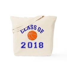 Class Of 2018 Basketball Tote Bag