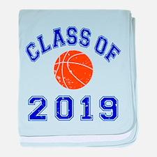 Class Of 2019 Basketball baby blanket