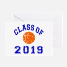 Class Of 2019 Basketball Greeting Card