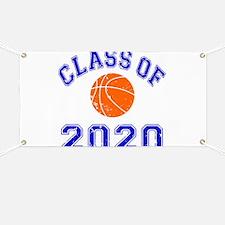 Class Of 2020 Basketball Banner