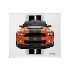 New Mustang GT Throw Blanket