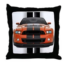 New Mustang GT Throw Pillow