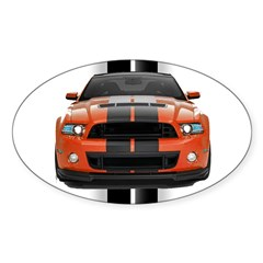 New Mustang GT Decal