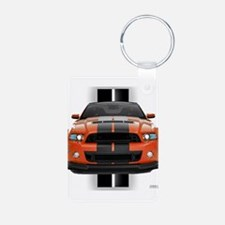 New Mustang GT Aluminum Photo Keychain