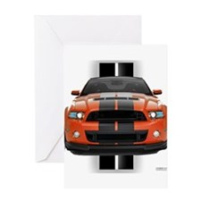 New Mustang GT Greeting Card