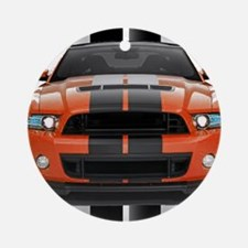 New Mustang GT Ornament (Round)