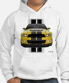 New Mustang GT Yellow Hoodie Sweatshirt
