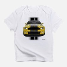 New Mustang GT Yellow Infant T-Shirt
