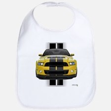 New Mustang GT Yellow Bib