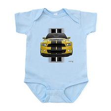 New Mustang GT Yellow Onesie