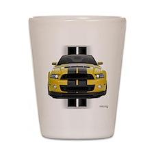 New Mustang GT Yellow Shot Glass